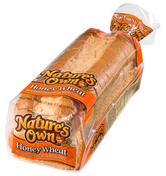 Pan integral de trigo con miel