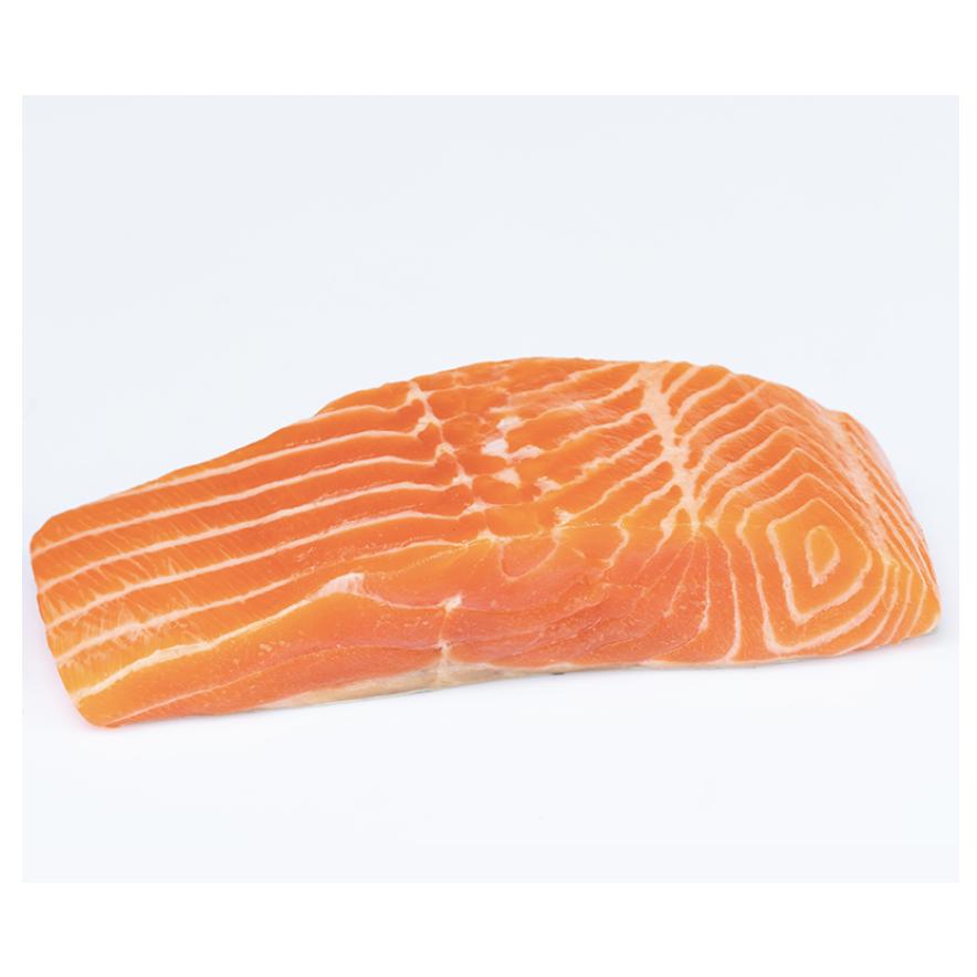 Porción de salmón sin piel