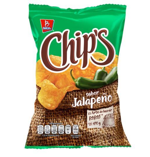 Papas chips jalapeño