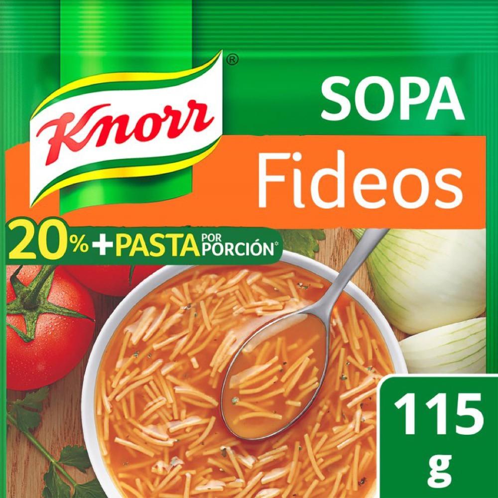 Sopa de fideos 20% + pasta