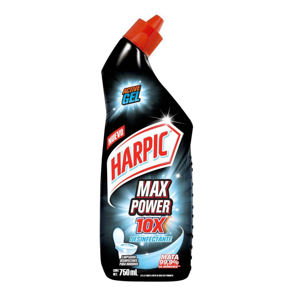 Desinfectante para inodoro max power