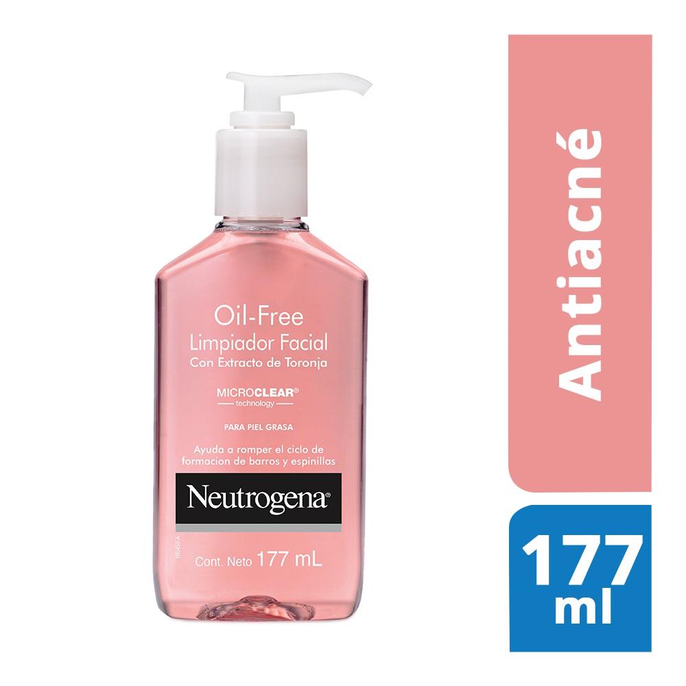 Limpiador facial  oil free con extracto de toronja
