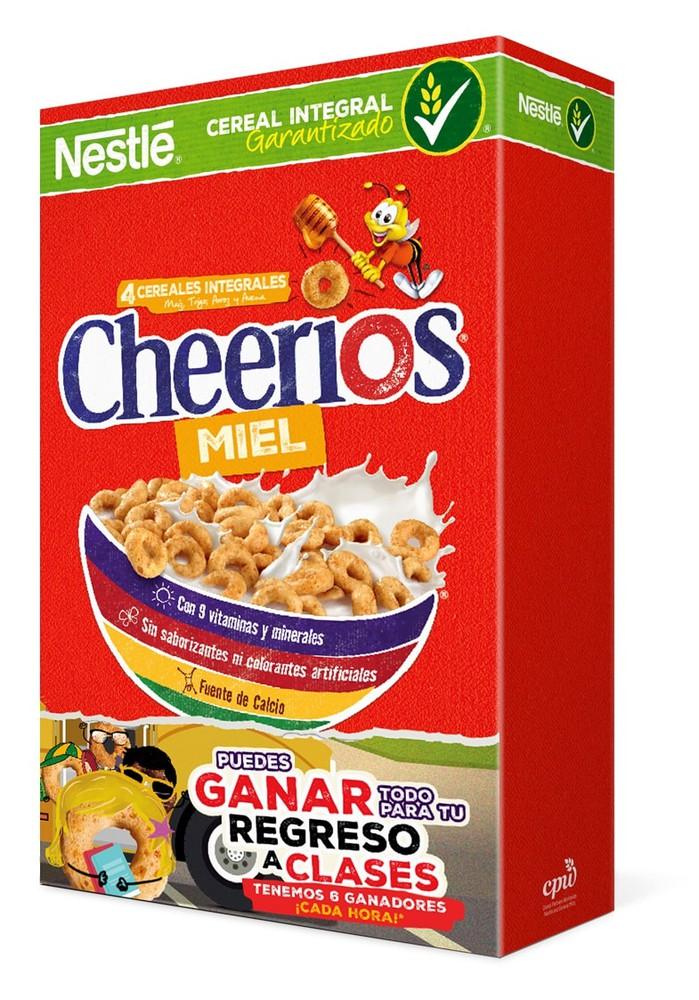 Cereal integral con miel
