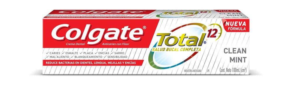 Pasta dental total 12 clean mint