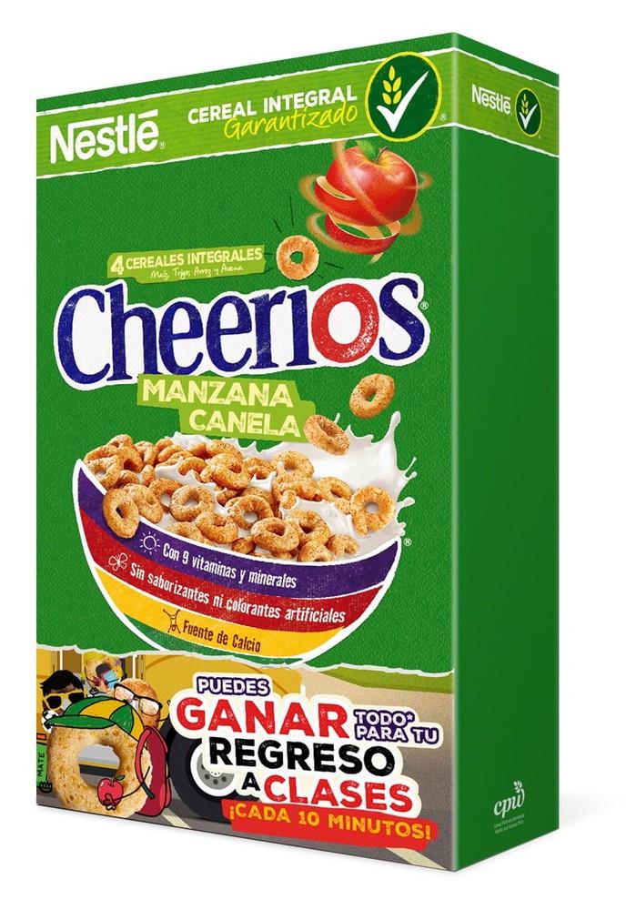 Cereal sabor manzana canela