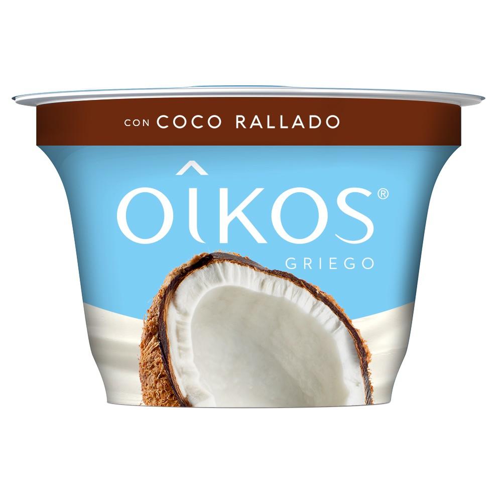 Yoghurt estilo griego con coco rallado