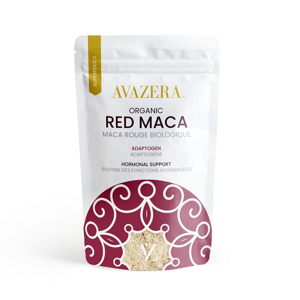 Avazera Organic Red Maca Powder - Gelatinized