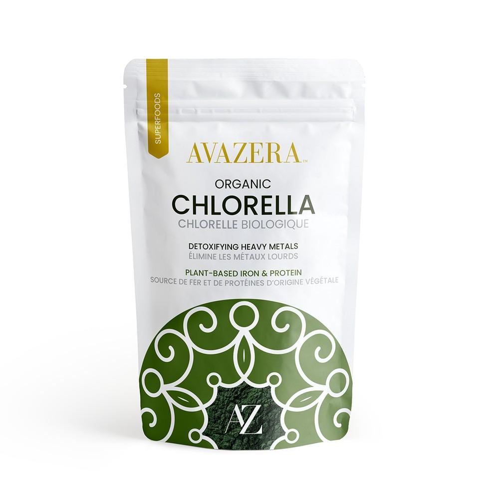 Avazera Organic Chlorella Powder - Cracked Cell Wall