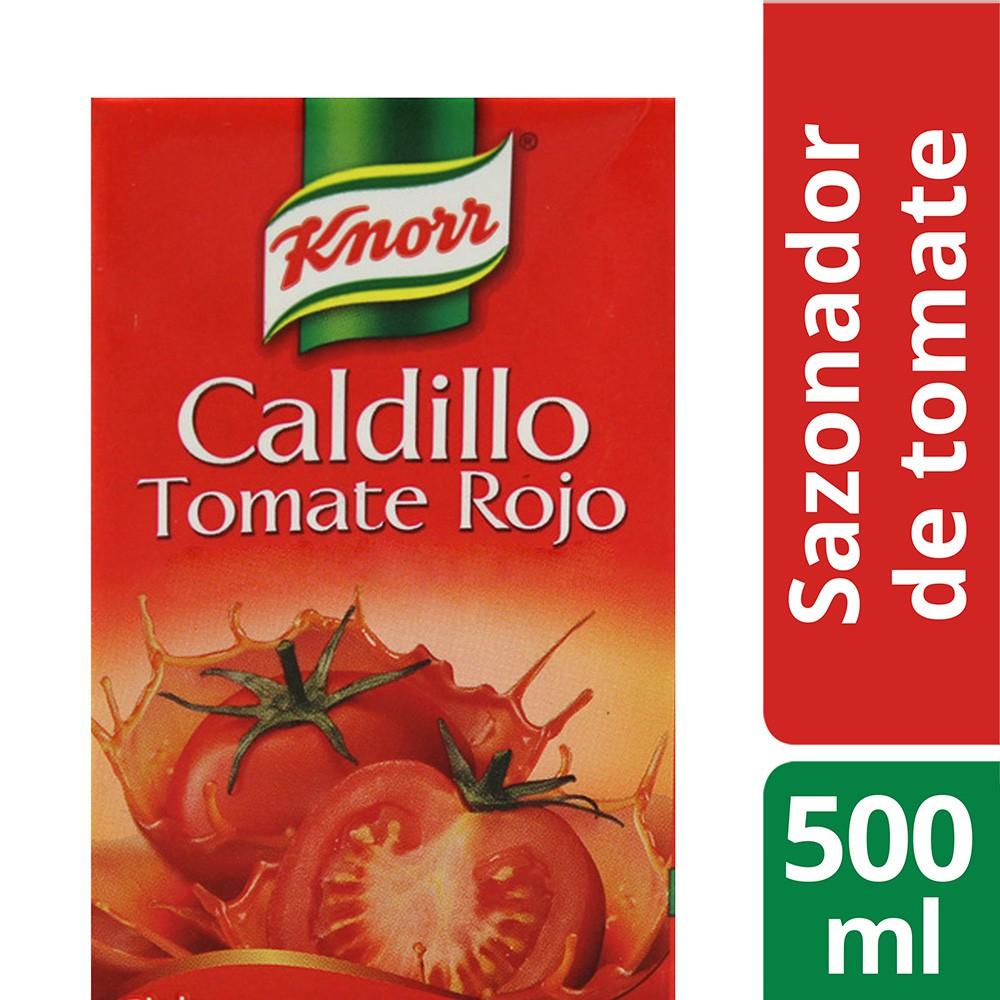 Caldillo tomate rojo