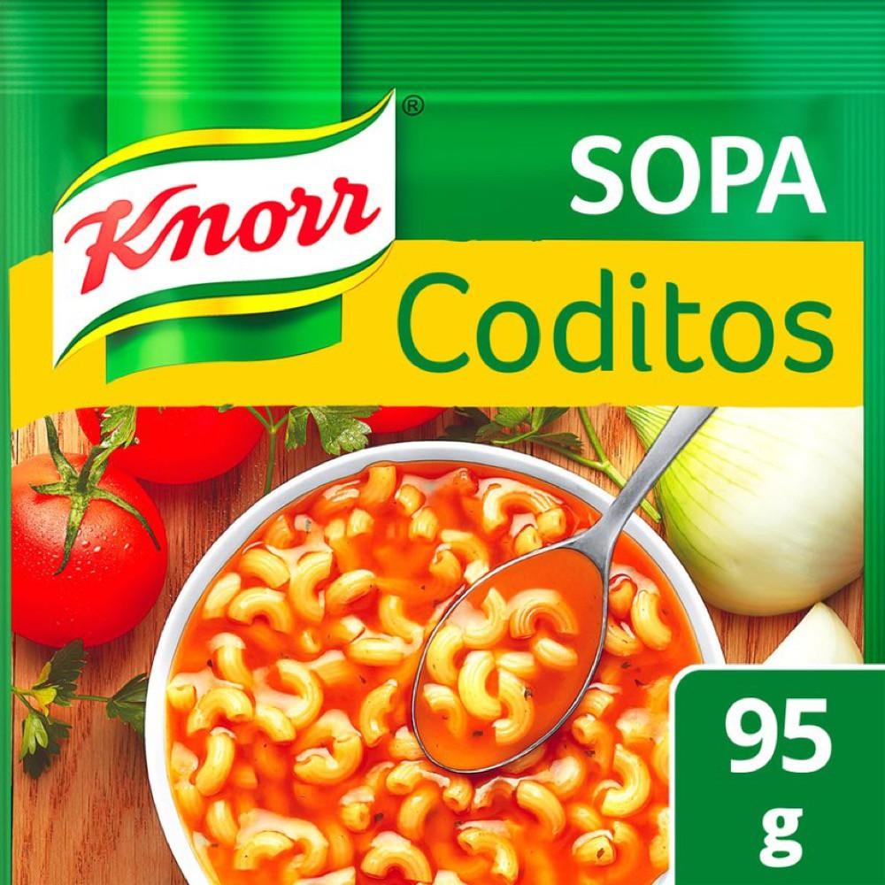 Sopa de coditos