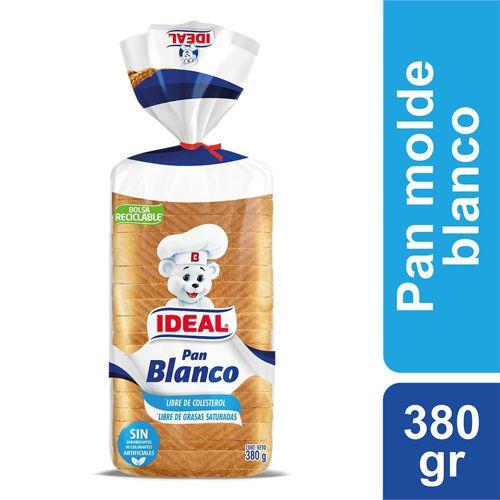 Pan de molde blanco 380 g
