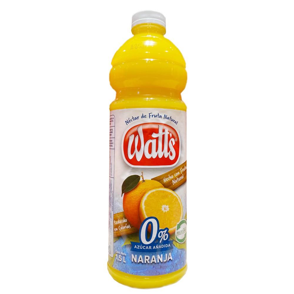 Jugo néctar de naranja 0% azúcar añadida