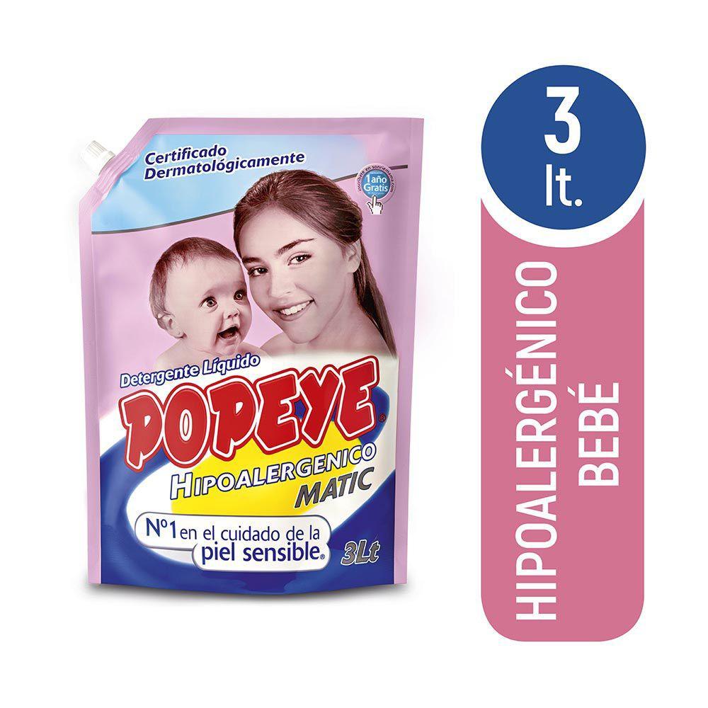 Detergente bebé hipoalergénico Doypack 3 l