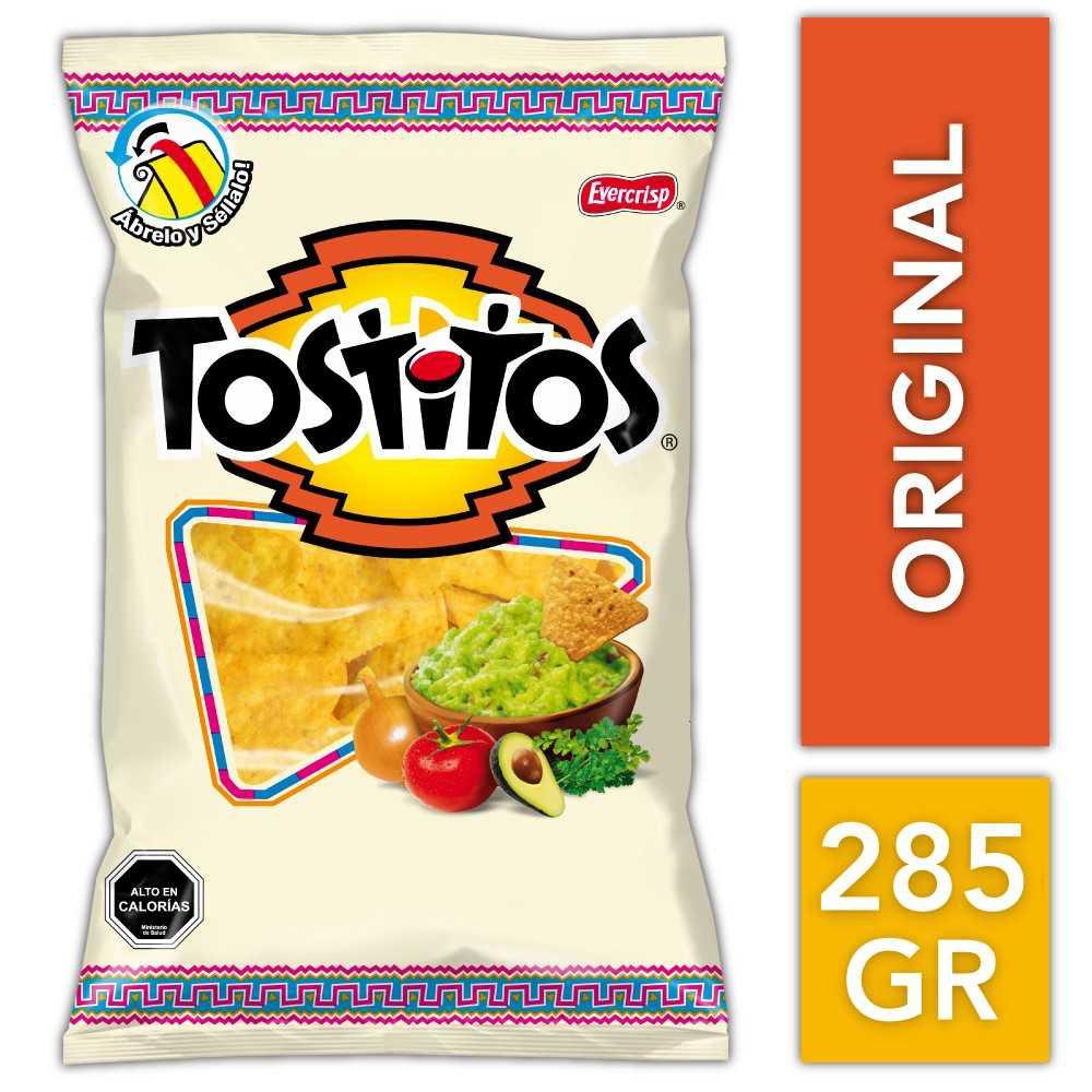 Tostitos tortilla de maíz salada