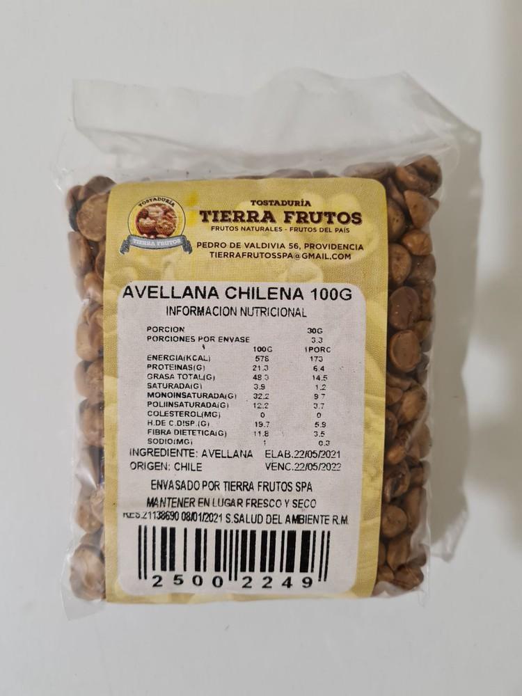 Avellana chilena 100g