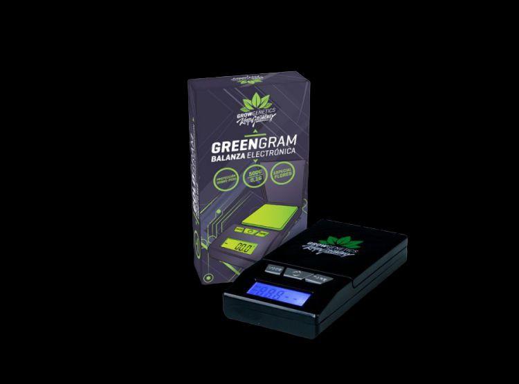 Green gram balanza electrónica Caja con 1 balanza