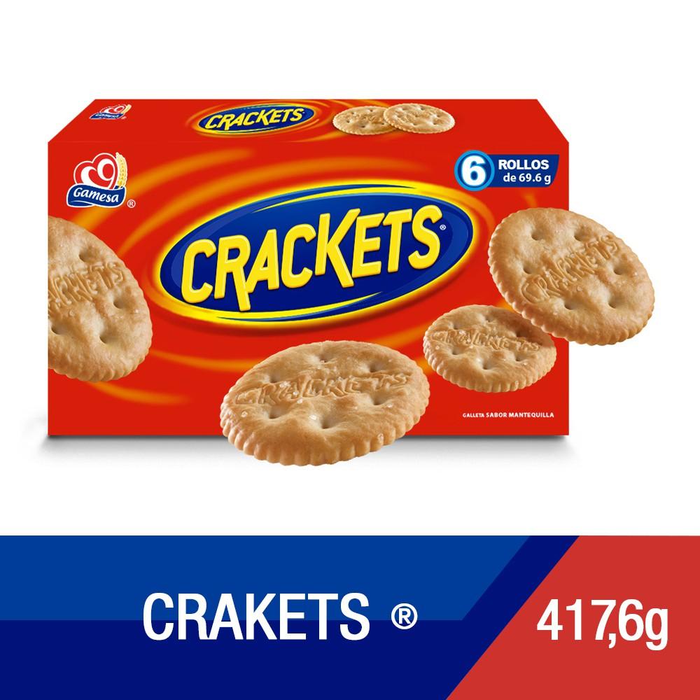 Galletas crackets