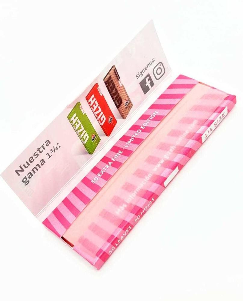 Papelillos pink edición limitada 1 1/4 Caja 50 papelillos para enrolar