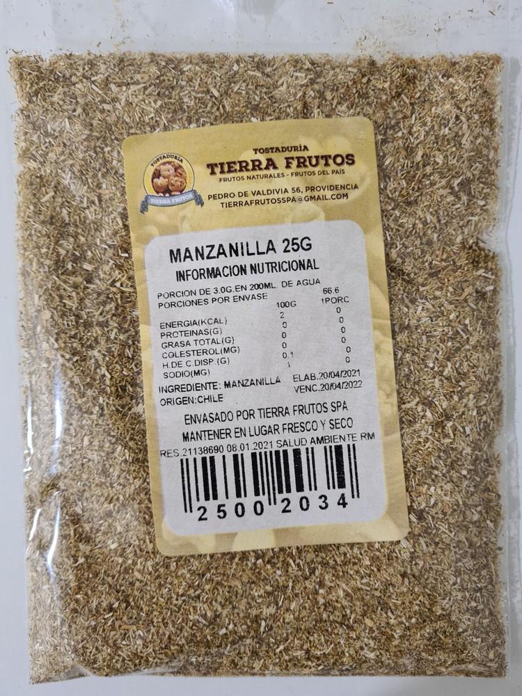 Manzanilla 25g