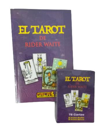 Gran libro de tarot rider waite incluye mazo de cartas Unidad