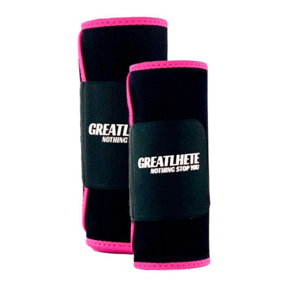 Faja térmica de entrenamiento color rosado