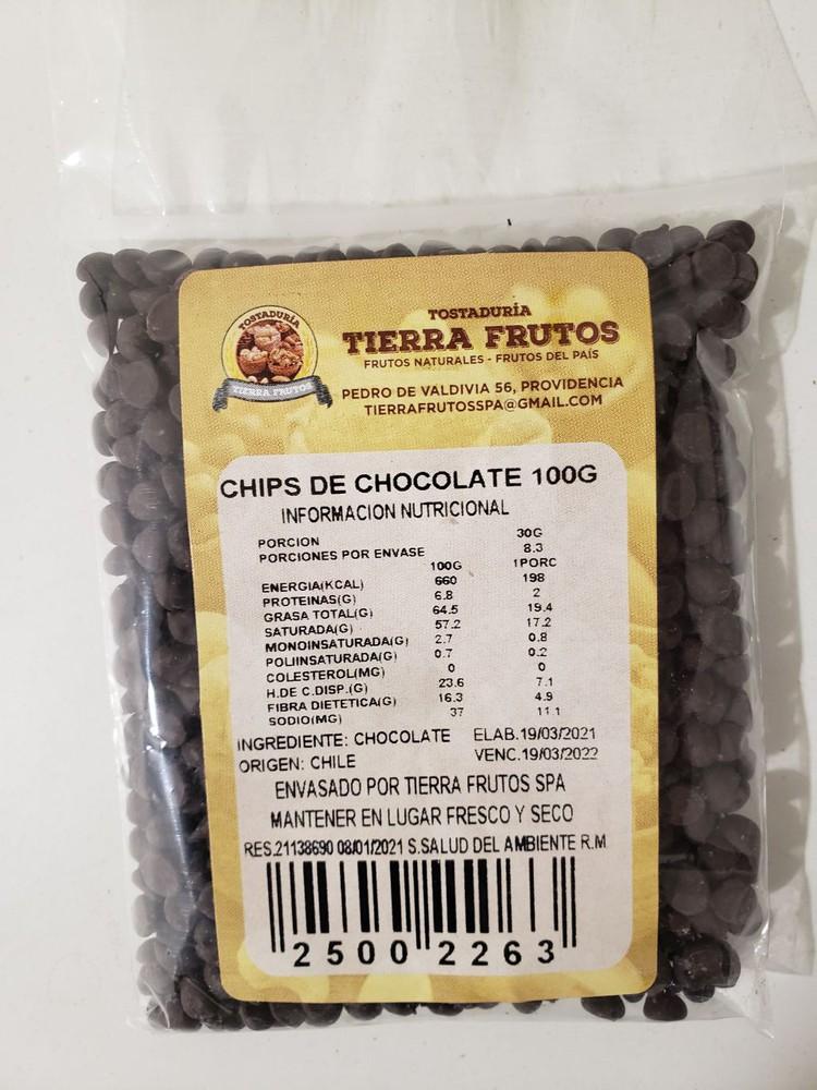 Chips de chocolate 100g