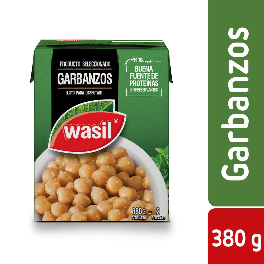 Garbanzos Caja 380 g