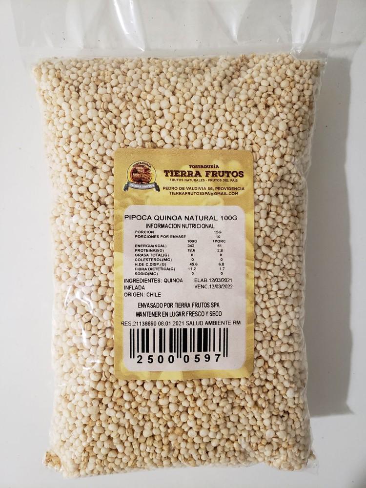Pipoca quinoa natural 100g