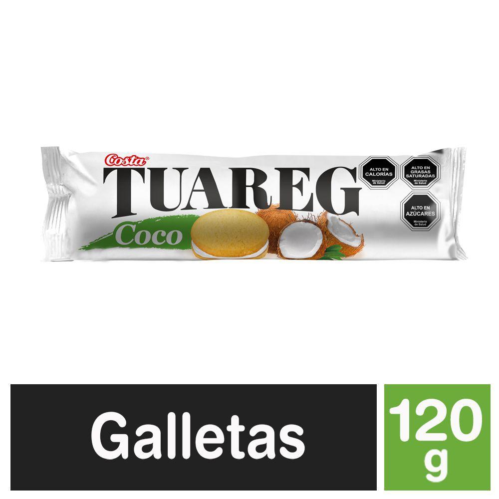 Galletas Tuareg sabor coco