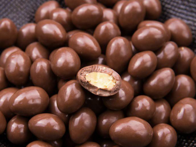 Almendras con chocolate Bolsa de 500gr