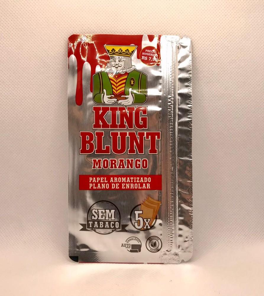 King blunt morango - 5uni. 15g