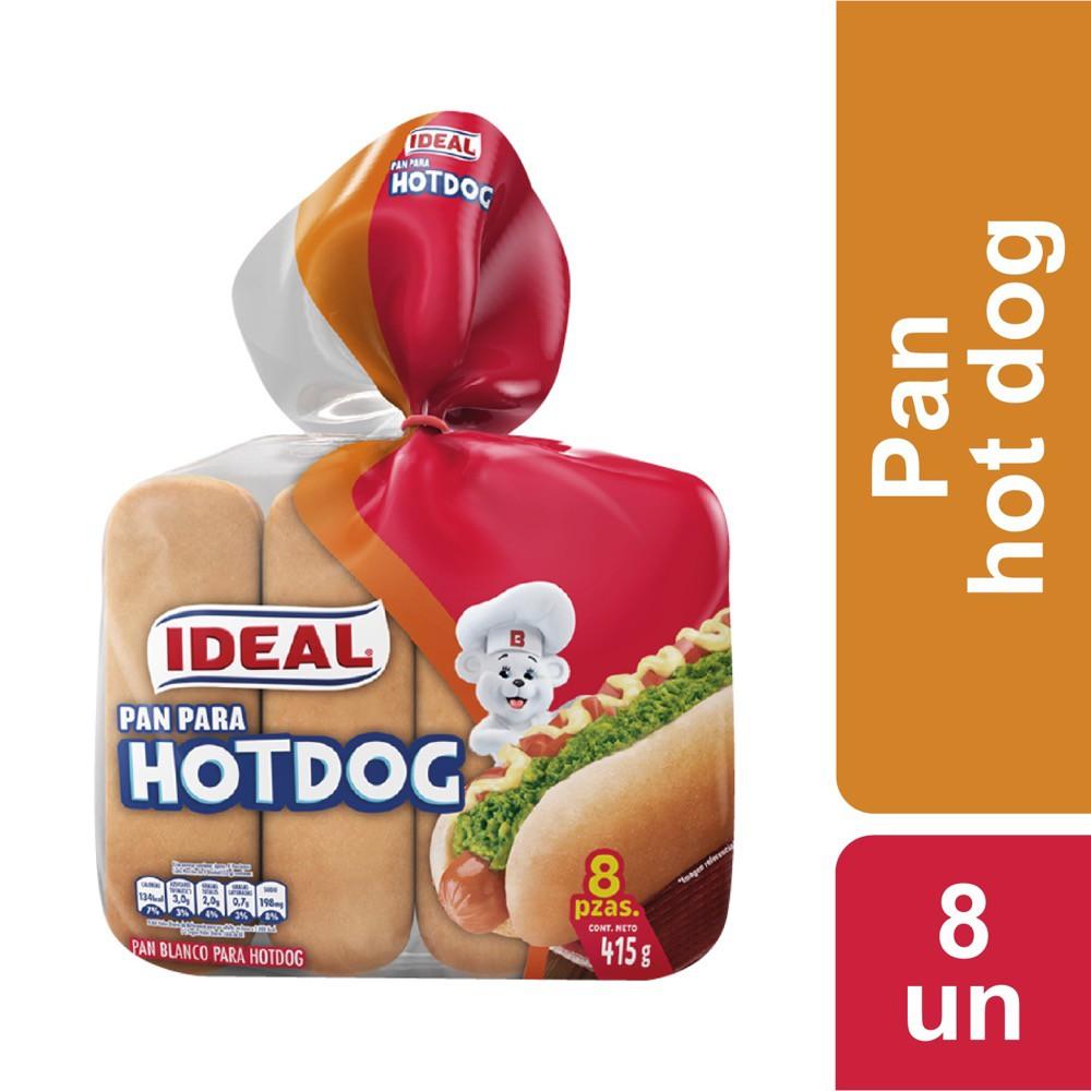 Pan para hot dog