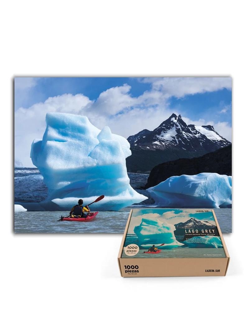 Puzzle lago grey - 1.000 piezas