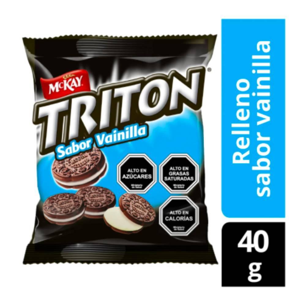 Triton galletas mini rellenas