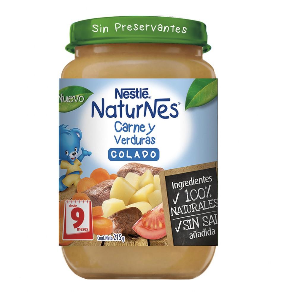 Colado NaturNes carne con verduras