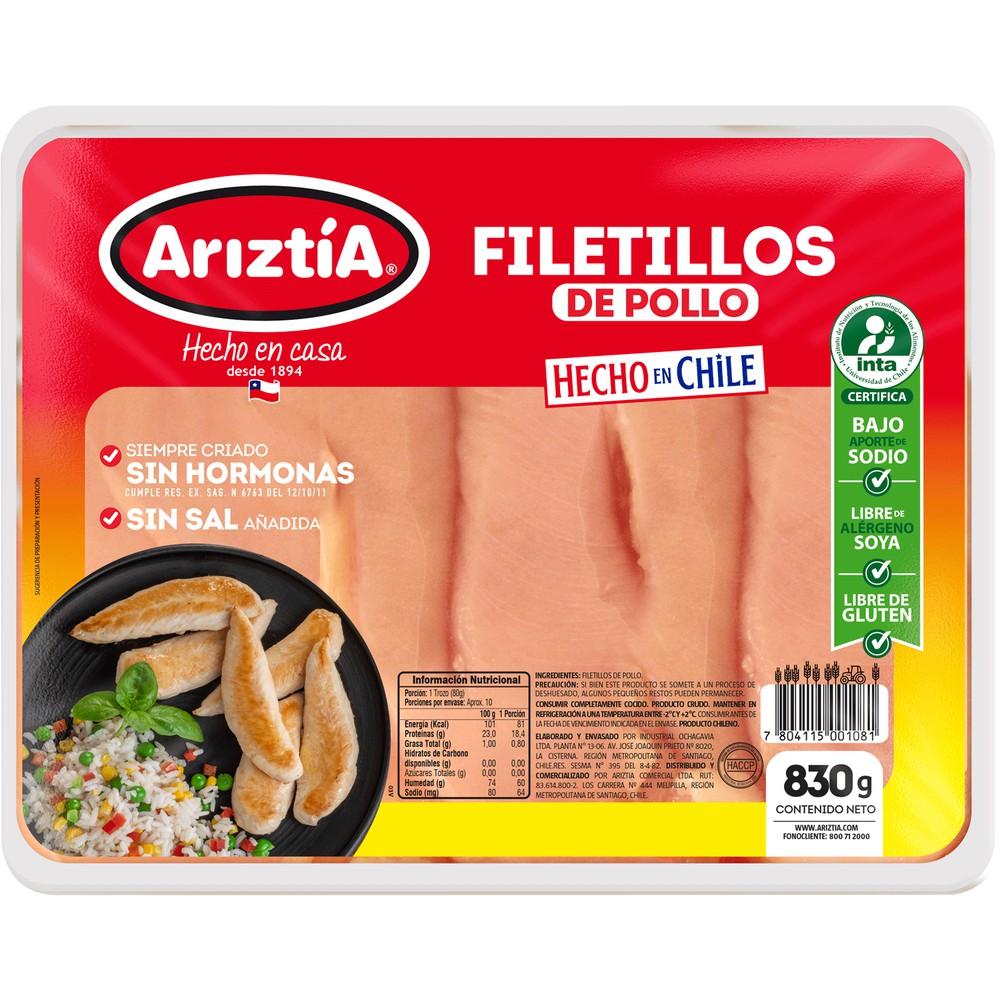 Filetillos pechuga de pollo