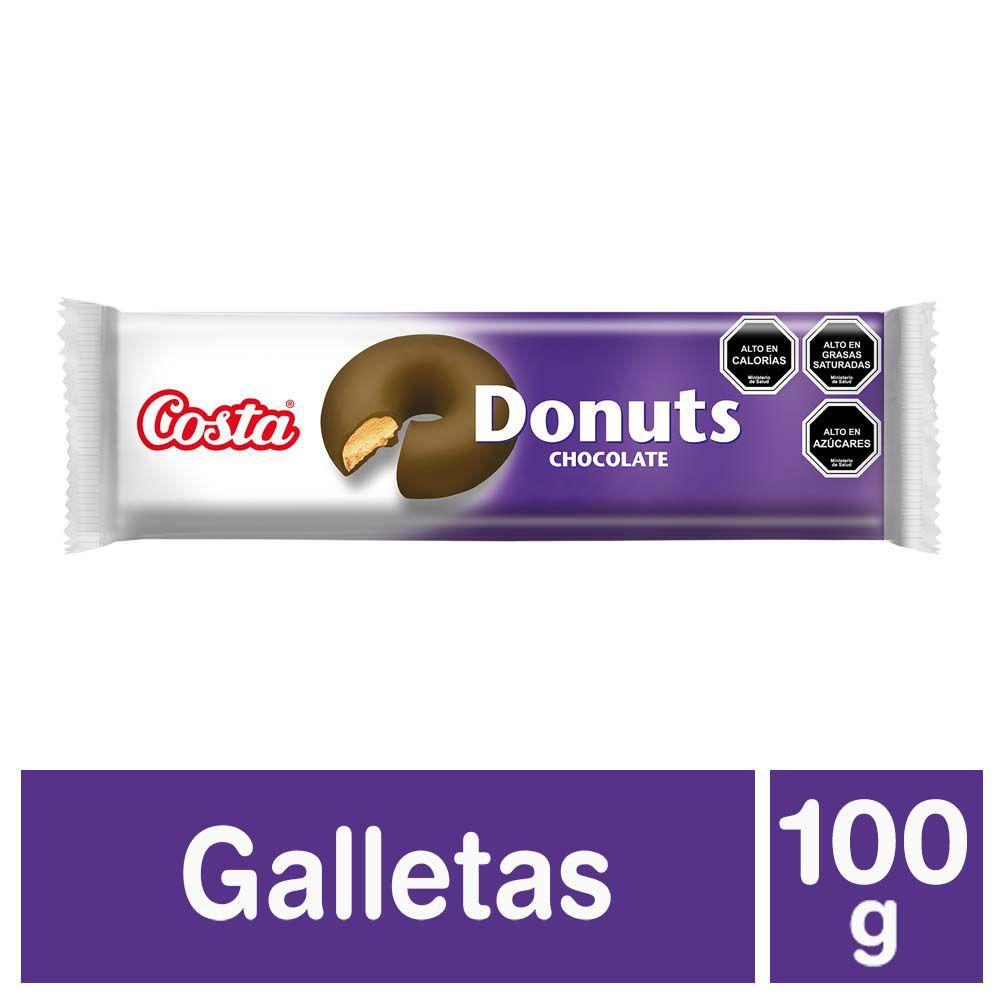 Galletas donuts chocolate