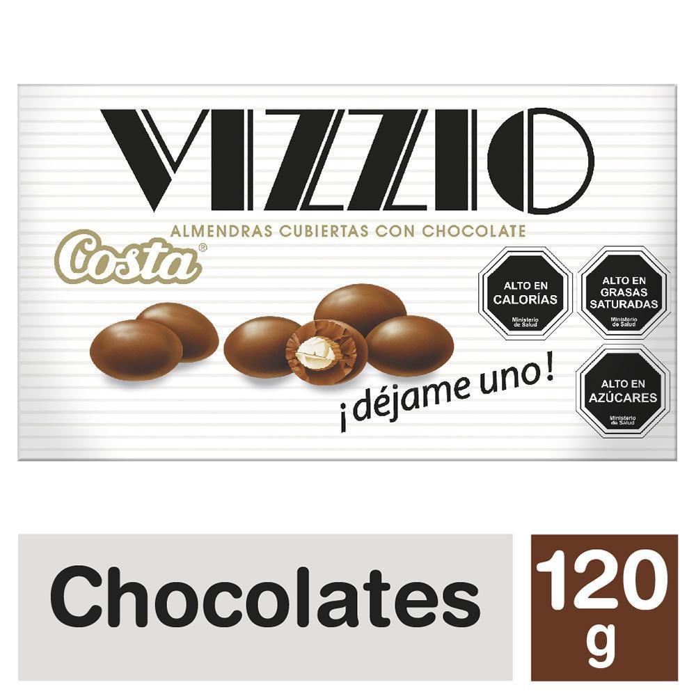 Almendras cubiertas con chocolate