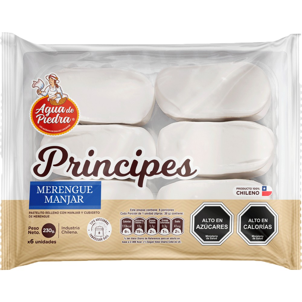 Pasteles Principes Bolsa