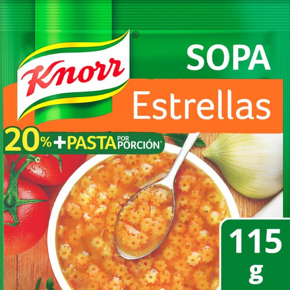 Sopa de estrellas 20% + pasta
