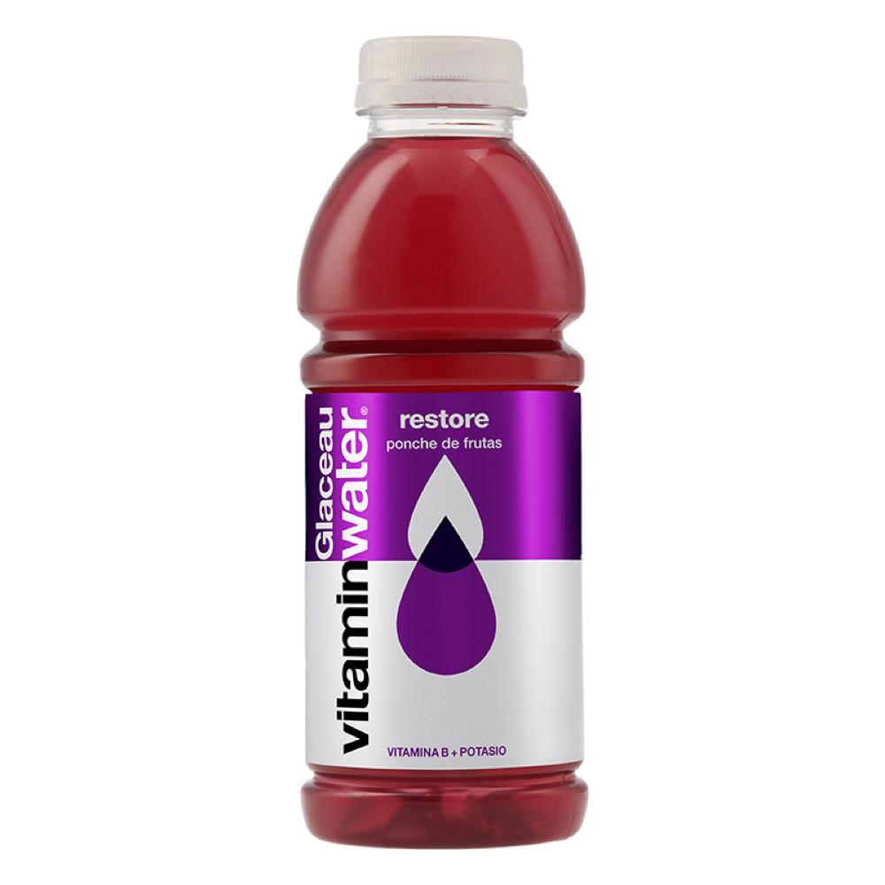 Vitaminwater restore ponche de frutas