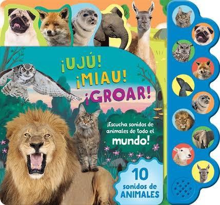 Libro de 10 sonidos de animales Tapa Dura