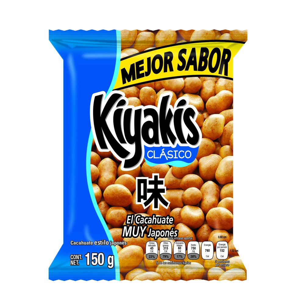 Cacahuates Kiyakis