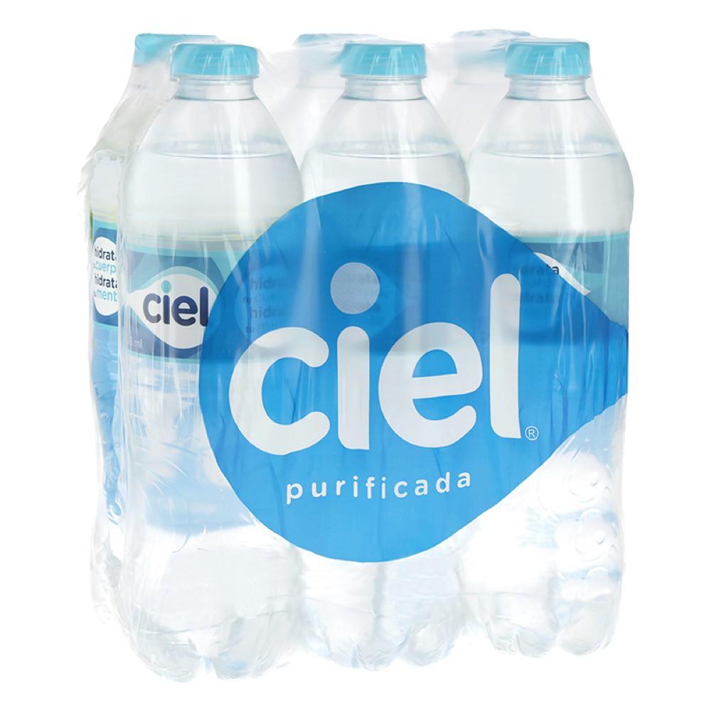 Agua natural 6 pack