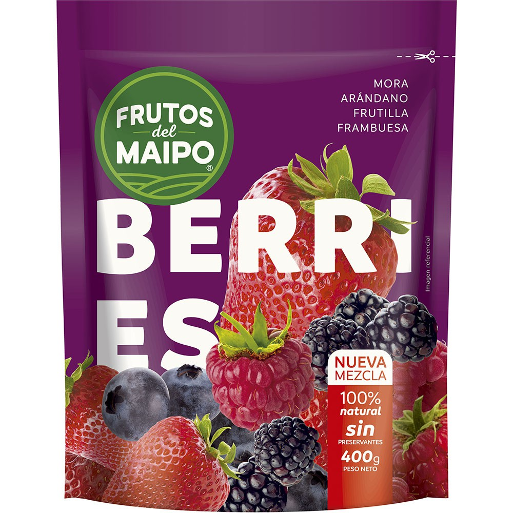 Mix berries congelados