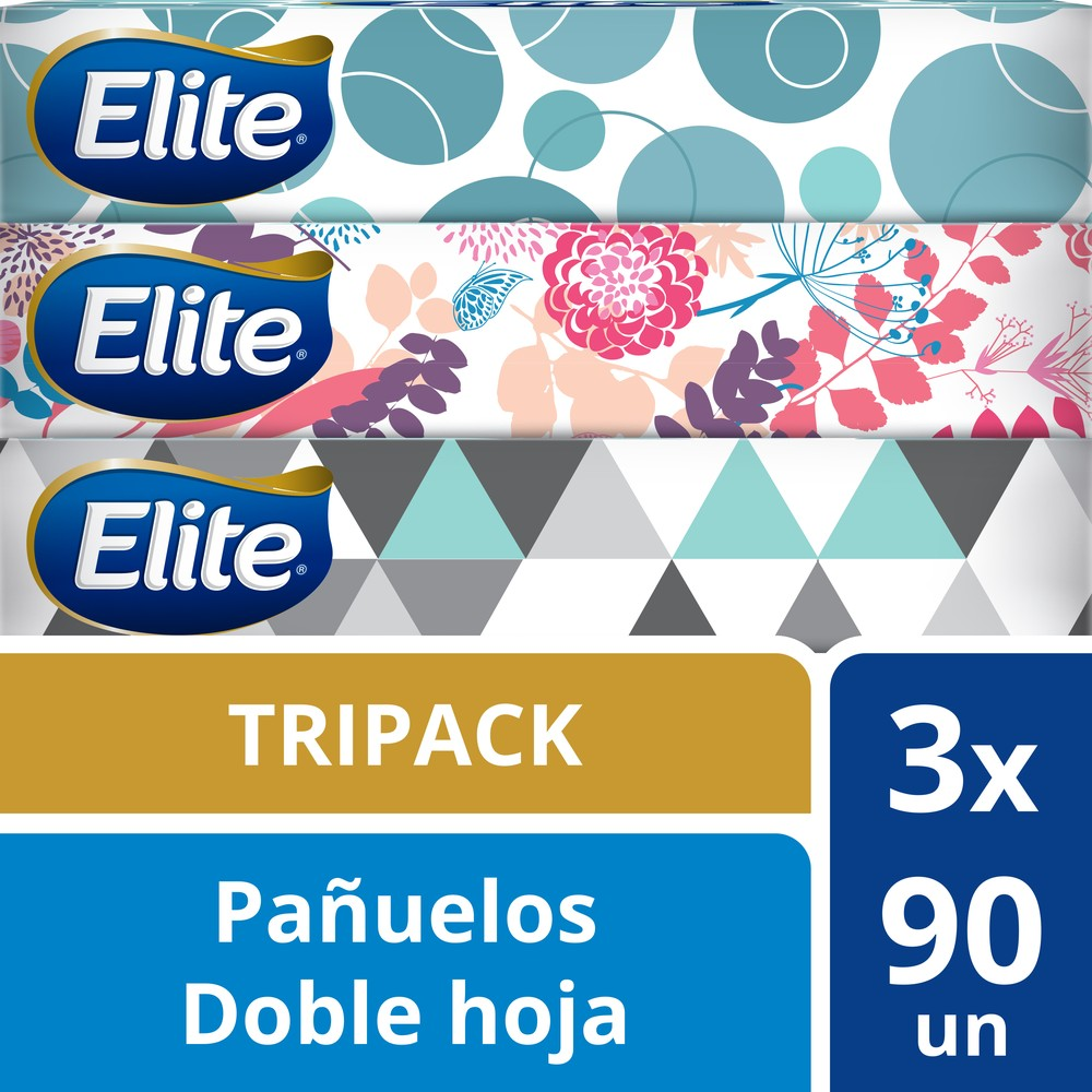 Pack de pañuelos 3 x 90 un