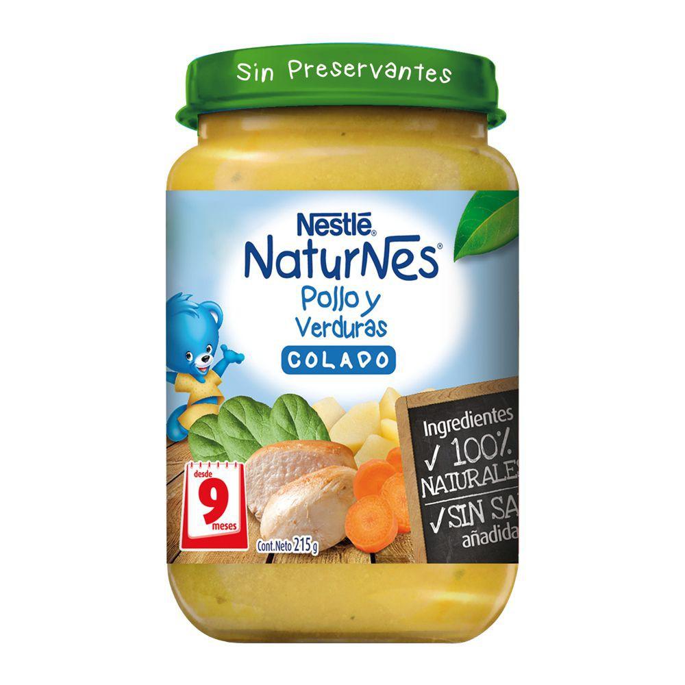 Colado NaturNes pollo y verduras