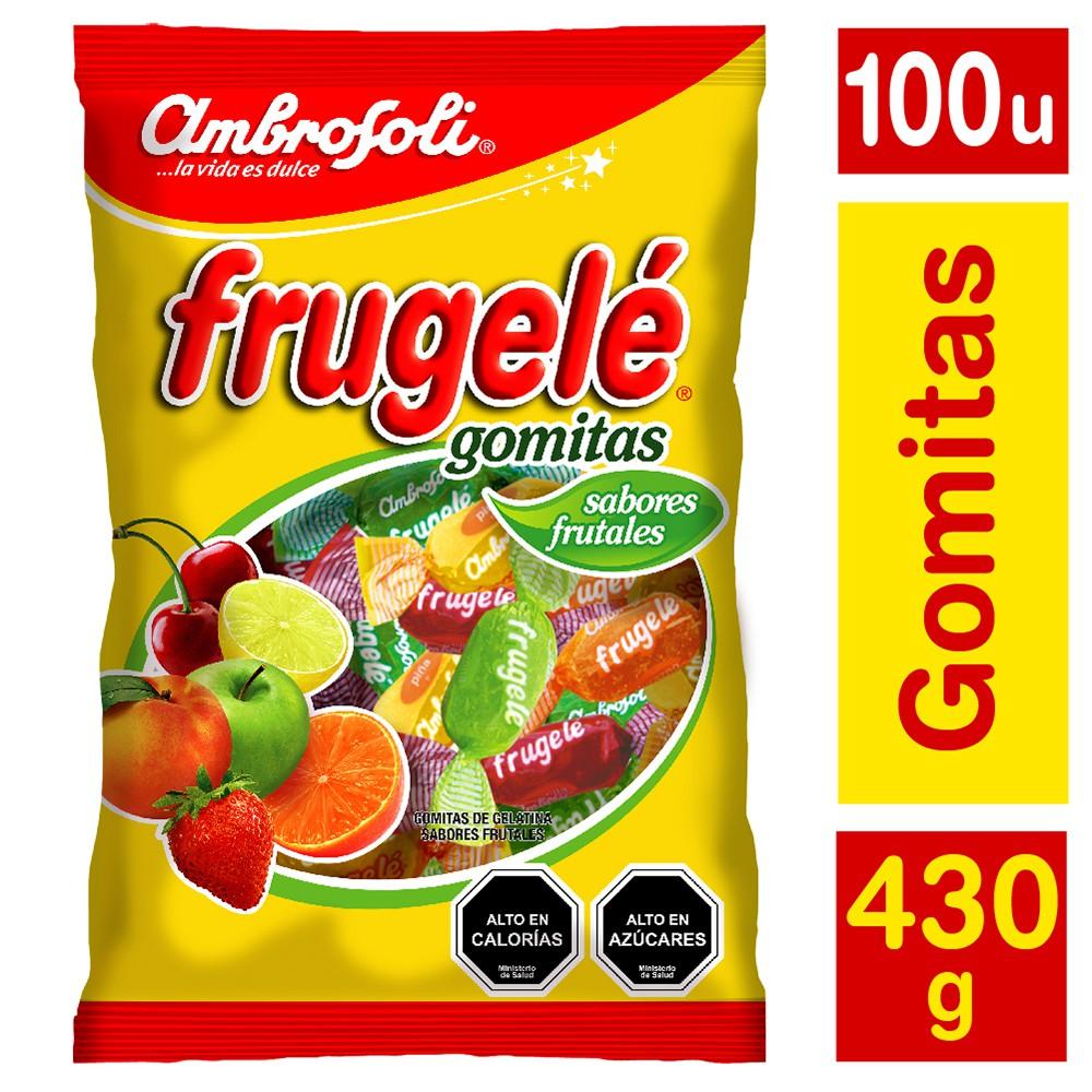 Gomitas sabores frutales