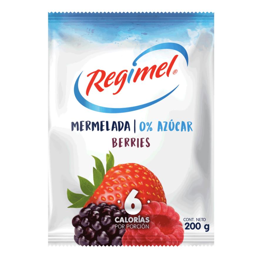 Mermelada de berries sin azúcar