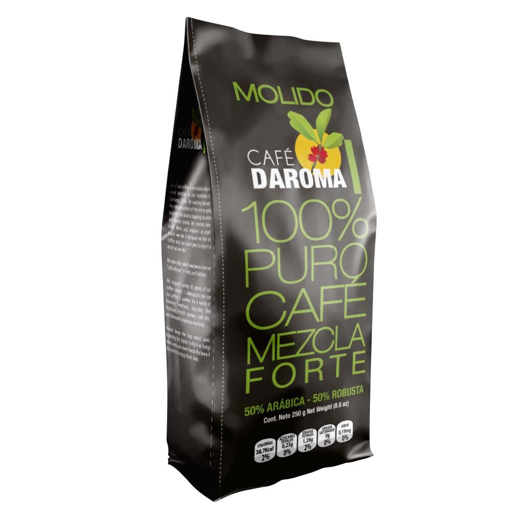Café molido mezcla forte